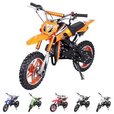 Kinder Mini Enduro Crossbike DELTA 49cc 2 Takt Motorcrossbike Pocketbike Cross