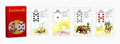 Tarot Cards Oracle Mlle Lenormand Fortune Telling 36 cards instruction Taro TC44