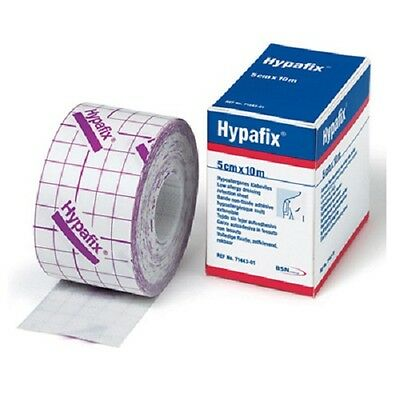 Hypafix Dressing Retention Tape Sheet 5cm x 10m -  Joints & Wide Areas