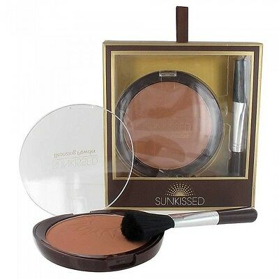 Sunkissed Matte Bronzing Powder & Brush Essential Bronze Kit 20g - Boxed