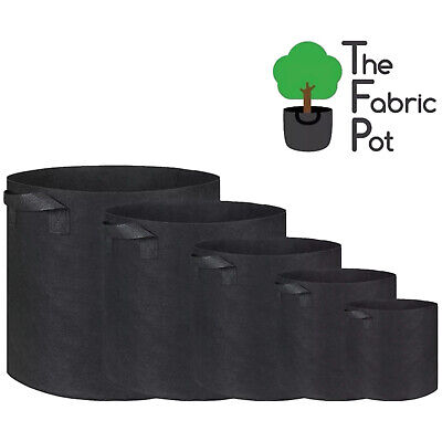 Fabric Root Pots Smart Plant Grow Pot Bags 1 2 10 15 18 20 25 30 40 60 70L Litre