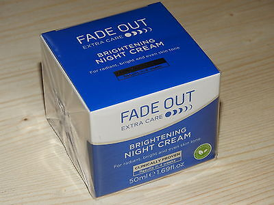Fade Out Extra Care Brightening Night Cream - 50Ml Bnib