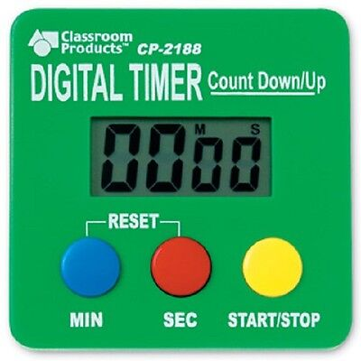 Learning Resources - Digital Timer Count Up and Down Stopwatch