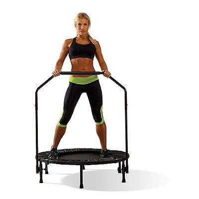 Fitness Trampoline For Adults Exercise Workout Mini Inch Gym Rebounder Aerobic