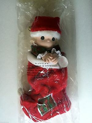 "***nwt*** Precious Moments Christmas Stocking Doll: ""jingles"""