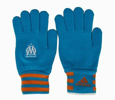 Adidas Olympic Marseilles Football Gloves (L)