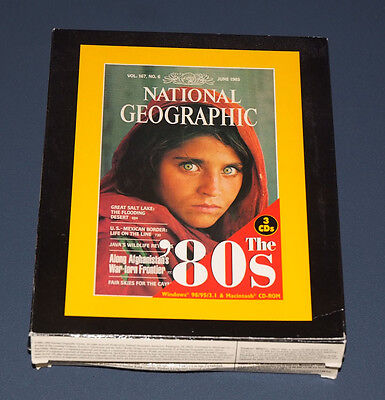 National Geographic The 80's 3 Cd Rom Interactive