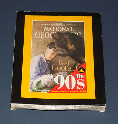 National Geographic The 90's 3 Cd Rom Interactive