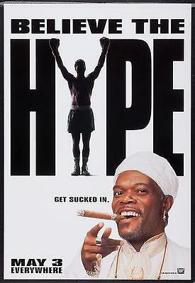 THE GREAT WHITE HYPE 27x40 D/S Original Movie Poster One Sheet SAMUEL L. JACKSON