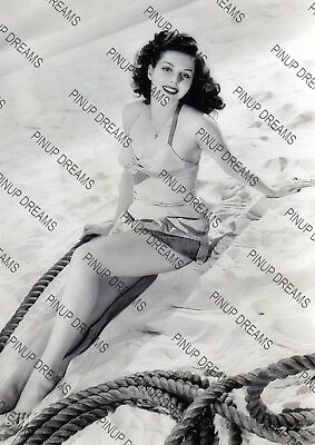 Vintage Art Photo Wall Print of Legendary Movie Star Ann Miller Re-print A4