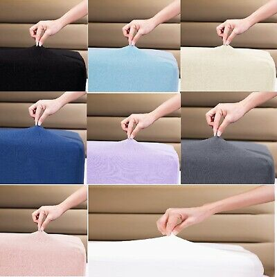 Supersoft Thick 100% Cotton, Single,Double,King and super King Fitted sheets.
