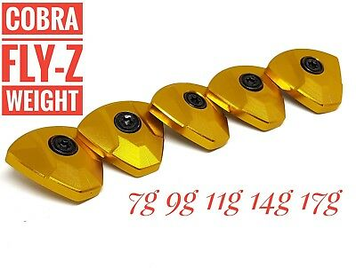 Golf weight for Cobra Fly-Z+ Driver 7g 9g 11g 14g 17g individual or set