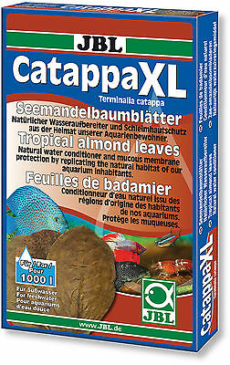 JBL Catappa XL Indian Almond Leaves Shrimp Discus Betta Anti Bacterial Lower pH