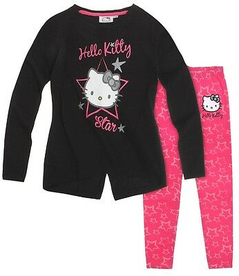 Hello Kitty Tunic with Leggings Set Black ' Hello Kitty Star