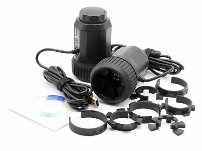 8MP Microscope Telescope Electronic Eyepiece Camera w 20-43mm Universal Adapter