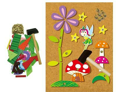 NEW Educational FAIRY TAP A SHAPE Wooden Hammer & Nails