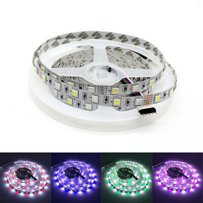 5M SMD 5050 LED Strip Streifen Band 300LEDs RGBW RGB+White LED Strip Light 12V
