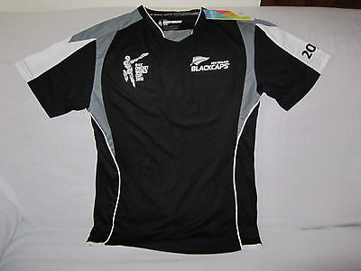 New Zealand Cricket World Cup Bnwt 2015 Shirt Jersey Tight Size Small