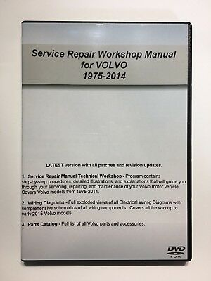 For Volvo 2003-2014 XC90 Service Repair Workshop Manual + Wiring & Parts Catalog