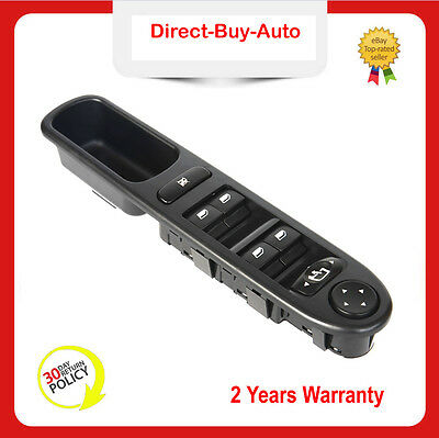 For Peugeot 307 Cc Sw 307Cc 307Sw Power Window Switch Driver Front 6554.kt