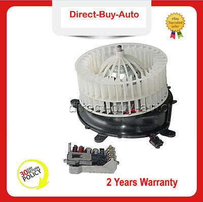 2208203542 For Mercedes W220 W215 A/C Heater Blower Motor + REGULATOR RESISTOR
