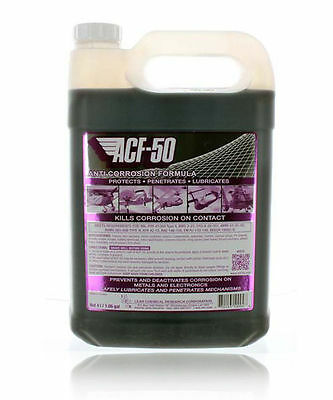 Genuine ACF-50 Anti Corrosion Spray Aerosol Motorcycle Bike Scooter 4 Litre