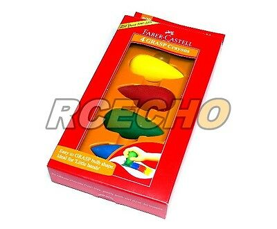 Faber Castell Playing & Learning Crayons 4 Grasp Crayon 122704 PB530