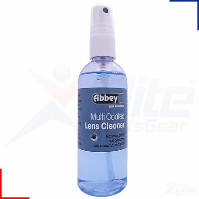 Abbey Multi Coated Lens Cleaner Airsoft Air Gun Sights Cleaning Spray 100ml