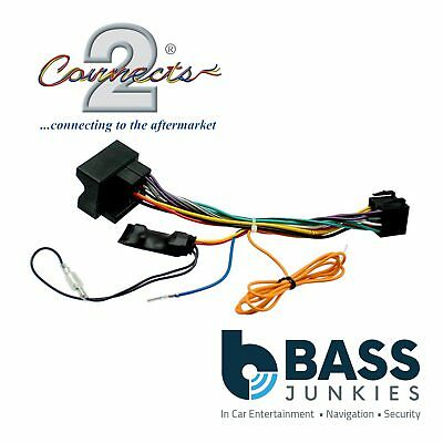 Peugeot 307 2004-2007 Car Stereo Quadlock Wiring Harness Ignition Adapter Lead