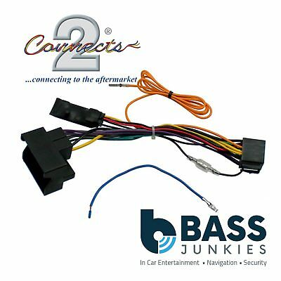 Volkswagen Golf 2004-2012 Car Stereo Quadlock Wiring Harness Ignition Adapter