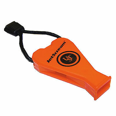 Ultimate Survival Technologies JetScream Floating Whistle Orange 122dB Pea-Less