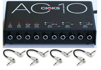 New CIOKS AC10 Guitar Pedal Power Supply! Free Patches! AC 10