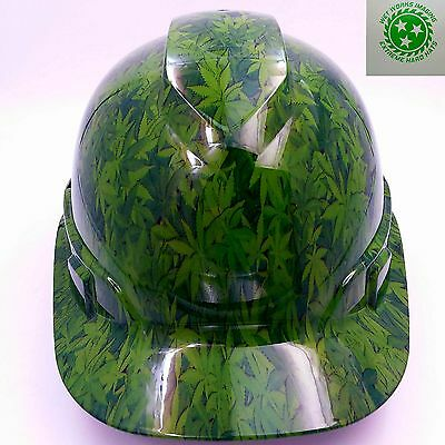 HARD HAT CUSTOM hydro dipped , OSHA approved FULL COLOR DEATH RIDER