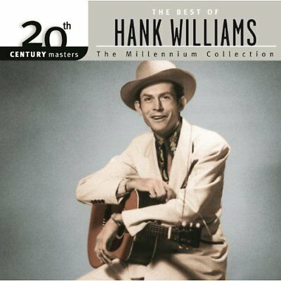 HANK WILLIAMS - The Best Of: Millennium Collection - CD COMP NEW Country Folk