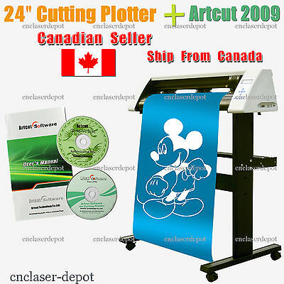 "Sales! Brand New 24"" Redsail Cutting Plotter Vinyl Cutter with Stand RS720C"