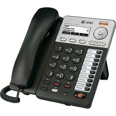 AT&T SB67020 Synapse Basic Corded VOIP Deskset With Caller ID & Speakerphone
