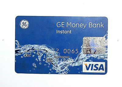 Visa credit card ge money bank from Russia