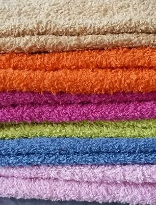 Face washers 100% Cotton soft assorted colors 4pieces