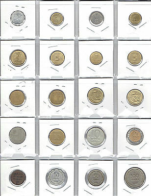 ITALY Lot of 20 Diferent Coins - Nice lot of older Italian Coins
