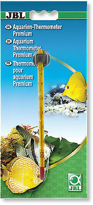 JBL Premium Thermometers for Aquarium Fish Tank Slim Internal Glass Suction Cup