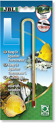JBL Hang On Aquarium Thermometer L Large for 15mm Glass Thickness 16.5 cm