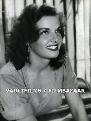 "JANE RUSSELL - 10"" x 8"" b/w Portrait Photograph THE OUTLAW 1943  #781"