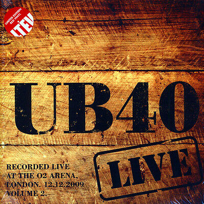 UB40 Live 2009 - Vol 2 LIMITED EDITION RED VINYL 2LP