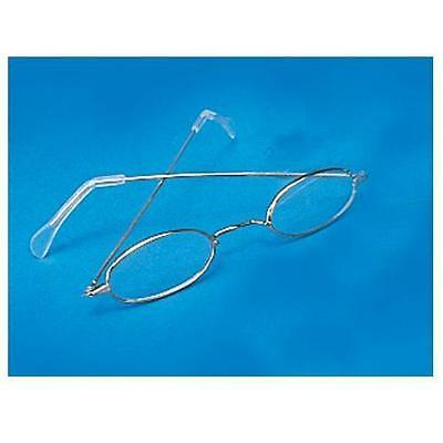 Gold Oval Eye Glasses Santa Claus Granny Costume Wire Frame Grandma Grandpa Mrs