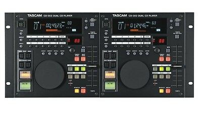 TASCAM CD-302 Professional DJ Dual CD Player | FREE P&P, BRAND NEW
