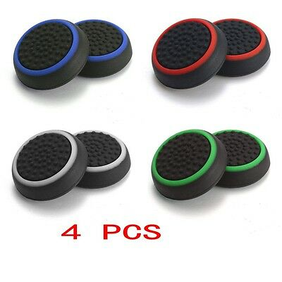 4 X Analog 360 Controller Thumb Stick Grip Thumbstick Cap Cover for PS4 XBOX