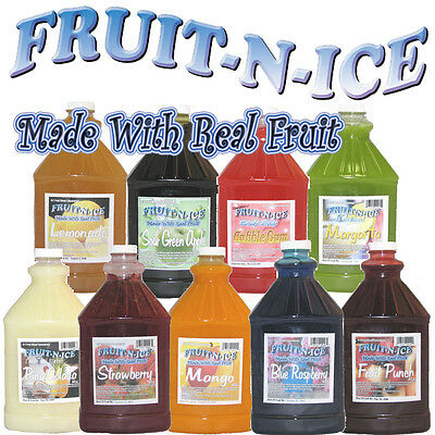 Fruit-N-Ice - Granita Mix Variety 6 Pack Case