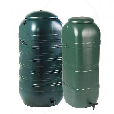 Hard Slimline Water Butts 100 Litre / 250 Litres Best Quality HYDROPONICS