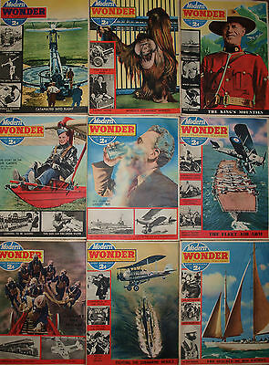 16 Modern Wonder Magazines Volume 5 May 1939 to September 1939 16 Issues
