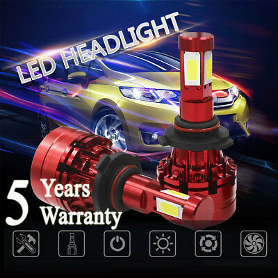 9005 6000K 1700W 255000LM 4-Sided LED Headlight Kit High Beam White Lamp Bulbs